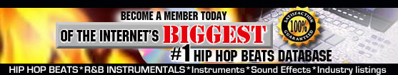 Download Hip Hop Beats, R&B Instrumentals & Sound Effects